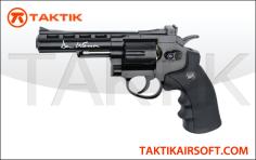 Revolver 4 Dan Wesson ASG Pistol – Black Variant