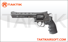 ASG Revolver 6 Dan Wesson Metal Black