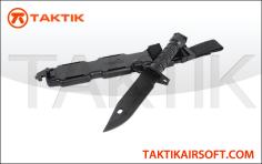 Lancer Tactical M9 Bayonet plastic black