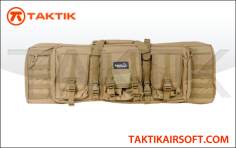 Lancer Tactical MOLLE 36 inches Double Gun Bag Tan