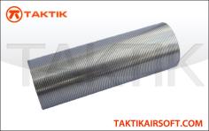 Taktikal Cylinder None Ported G3 M16 Ak Metal Silver