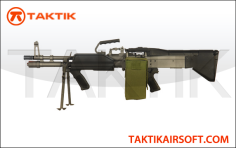 MK43 A&K Rifle – Black Variant