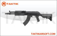 G&G RK104 AK104 Evo Crane Stock Rail metal black