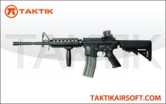 G&G TR16 R4 Commando M4A1 RIS TOP TECH blowback metal black