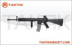 G&G TR16 R5 M16 RIS TOP TECH Blowback metal black
