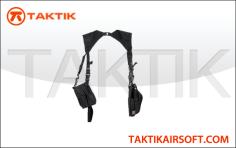 Lancer Tactical Vertical Shoulder Holster Black