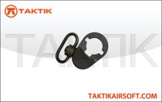 Retractable Stock Sling Hook M4 Buffer Tube black