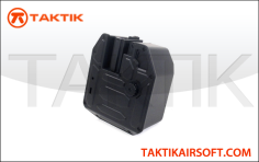 A&K M16 M4 5000 rounds Box magazine plastic black