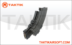 CYMA AK Series 1100 round Electric magazine Metal black