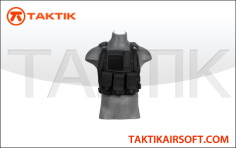 Lancer Tactical plate carrier vest black