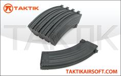 King Arms AK AK47 140rd Mag Boxset metal Black