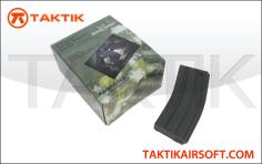 King Arms M16 M4 120rd Mag Boxset 5 plastic Black