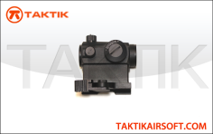 Micro 20mm Red Green Dot Sight with riser Metal black