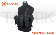 Defcon AK Tactical Rig vest Black