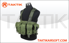 Defcon AK Tactical Rig vest Green