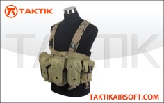 Defcon AK Tactical Rig vest Tan