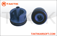 Taktikal AK Short cylinder head domed padded Aluminum blue