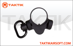 Taktikal TRY QD Sling Swivel with wide buffertube mount metal black