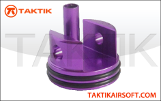 Taktikal V7 long cylinder head fully padded Aluminum purple