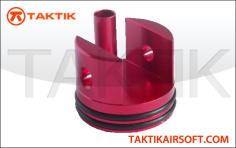 Taktikal V7 short cylinder head fully padded Aluminum red
