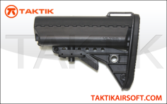 VLTOR Stock ABS Black