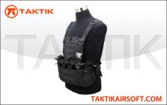 Defcon Modular Pouch System Vest Black