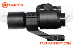 Red Green dot sight black metal
