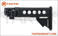 DBoys LR300 Extendable and Folding Stock Metal Black