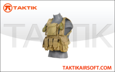 Lancer Tactical Modular chest rig tan