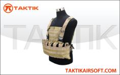 Defcon Modular Pouch System Vest Tan