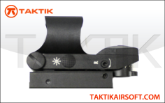 Reticle Red Green Dot Holo Sight Black