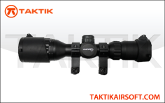 Sniper 3-9 x 32 Tactical Illuminated Scope Metal Black