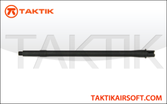 Taktikal 16 inch outer barrel m16A2 Profile metal Black