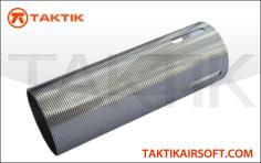 Taktikal Cylinder Ported Mp5 G36 P90 Metal Silver