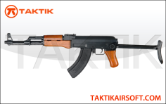 Cyma AK47S AK 47 wood metal black