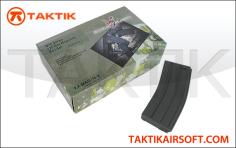 King Arms M16 M4 120rd Mag Boxset 10 plastic Black