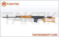 CYMA SVD Dragunov Sniper Metal Wood black