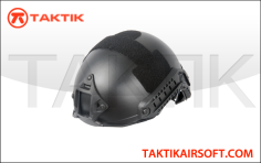 Lancer Tactical FAST Ballistic Helmet Black
