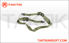 Taktikal two point bungee sling Green