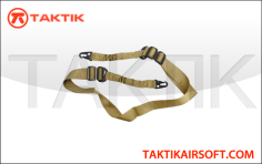 Lancer Tactical two point bungee sling tan