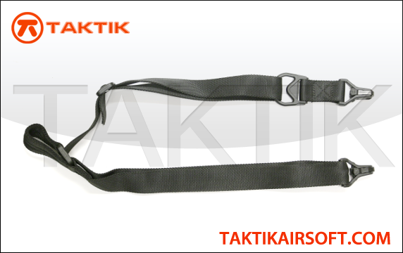 Taktikal Convertible one to two Point Sling Black