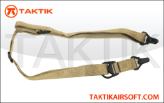 Taktikal Convertible one to two Point Sling Tan