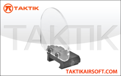 Taktikal Lens sight protector and rail mount