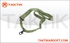 taktikal sling single point bungee green