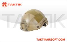 Lancer Tactical FAST Ballistic Helmet Tan