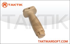 Taktikal vertical grip plastic tan