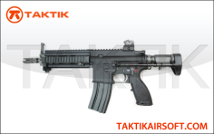 WE 888C 416C GBBR Gas Blow Back Rifle Taktikal edition Metal Black