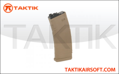 WE Tech MSK 30 round GBB Mag Polymer Tan