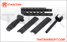 CYMA MP5 rail RAS Kit metal black