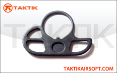 Taktikal 3 Hole Sling Adaptor for GBB M4 Buffer Tube metal black